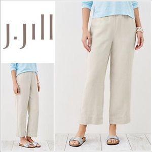 Beautiful J. Jill Love Linen Cropped Pants💕
